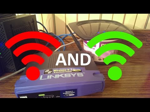 How to use another router as a range booster for your Wifi Network [UPDATED VERSION]