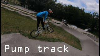Pump track Pont-de-l'Isère FPV 4K