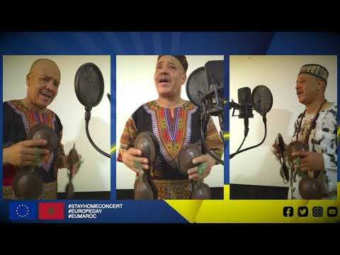 مجيد بقاس يعزف النشيد الأوروبي على إيقاع كناوة Majid Bekkas revisite l'Hymne à la joie sur gnaoua