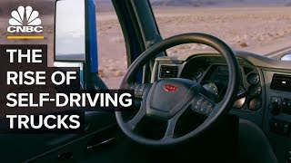 How Amazon Demand Drives Autonomous Truck Tech