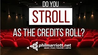 Do You Stroll When The Credits Roll?    Cinema Etiquette with Boys On Film