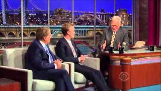 Том Фелтон, Tom Felton at David Letterman's Late Show