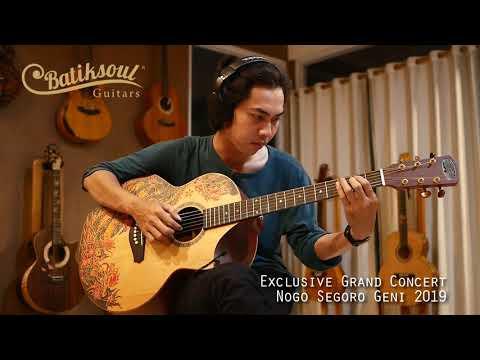 Exclusive Grand Concert Naga Segara Geni - Batiksoul Limited Edition 2019 ( Boutique Guitar )