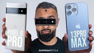 Google Pixel 6 Pro vs Apple iPhone 13 Pro Max - Which is the Flagship KING?