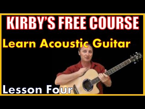 Free Guitar Course - Lesson 4