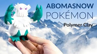Abomasnow  - (Pokémon) - Abomasnow (Pokemon) – Polymer Clay Tutorial