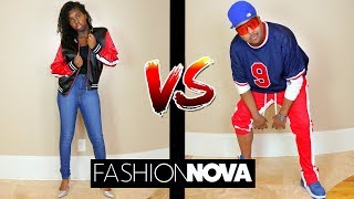 FASHION NOVA vs MEN