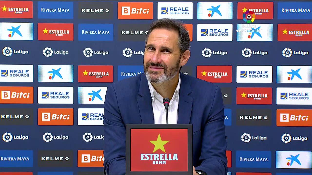 Rueda de prensa RCD Espanyol de Barcelona vs Deportivo Alavés