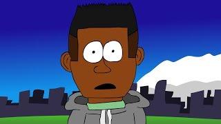 Kendrick Lamar - m.A.A.d city (Animated Music Video)
