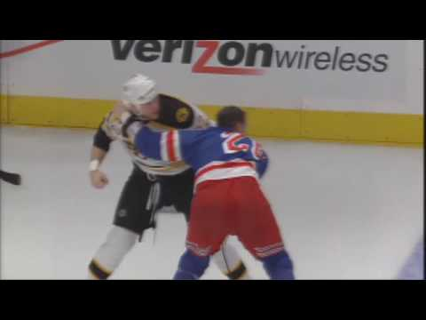 Colton Orr vs. Shawn Thornton
