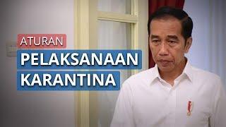 Joko Widodo Minta Jajarannya Segera Siapkan Aturan Pelaksanaan Karantina Wilayah