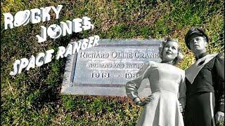 #881 The Grave of ROCKY JONES - Space Ranger - Richard Crane - Daily Travel Vlog (1/4/19)