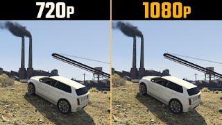 720p vs. 1080p Gaming