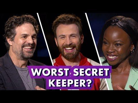 Marvel Studios' 'Avengers: Endgame' Stars Reveal Secrets from Set   Earth's Mightiest Show (видео)