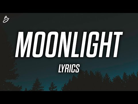 Ali Gatie - Moonlight (Lyrics / Lyric Video)