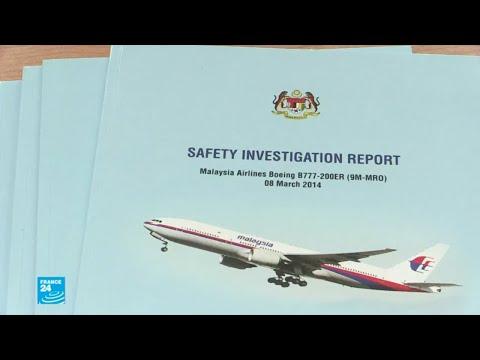 العرب اليوم - شاهد: تفاصيل التقرير الجديد عن الطائرة الماليزية المفقودة