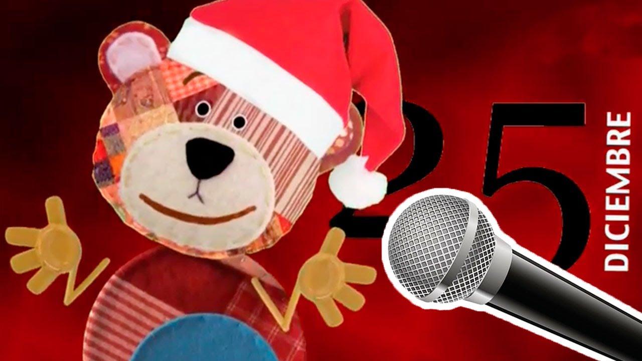 Villancico de 25 de diciembre. Canta el Karaoke