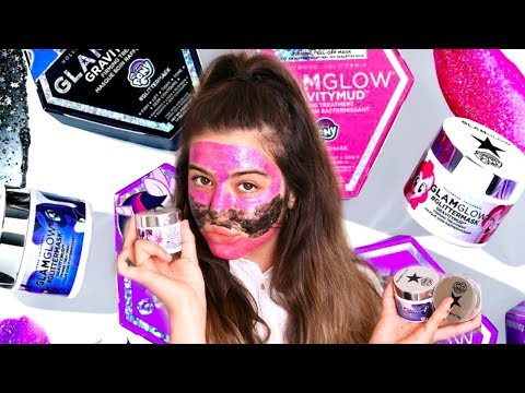 Testing GlamGlow Face Mask | Sophia Grace