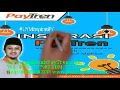 Video Cara Mudah Mengerjakan Bisnis PayTren Terbaik, Info, WA: 087877977909 BBM: D7744FC8