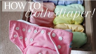 CLOTH DIAPERING FOR BEGINNERS | ALVABABY | WASH ROUTINE