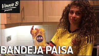 Colombias National Dish: Bandeja Paisa