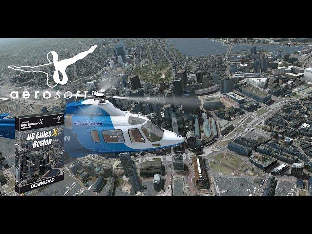 simMarket: AEROSOFT - US CITIES X - BOSTON FSX P3D
