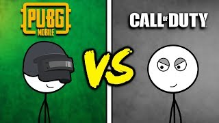 PUBG Mobile Gamers VS Call of Duty Mobile Gamers