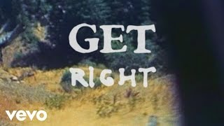 Jimmy Eat World - Get Right (Lyric Video)