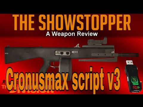 克麥】Cronusmax _全境封鎖_The Division v1 8 2 Showstopper(萬眾)+