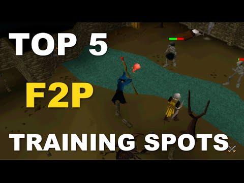 Video Oldschool Runescape Top 5 Best F2P Training Spots