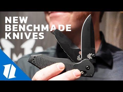 NEW Benchmade Knives | SHOT Show 2019