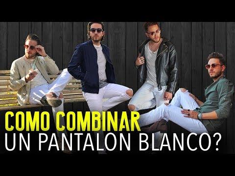 ¿TE VES BIEN, VISTIENDO PANTALON BLANCO?