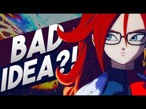 Is Android 21 a BAD Idea for Dragon Ball FighterZ?! Android 21 Character Roster Discussion