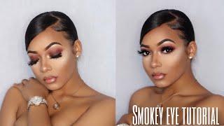How To : Easy Smokey Eye Tutorial | Fall Makeup | Talk Thru