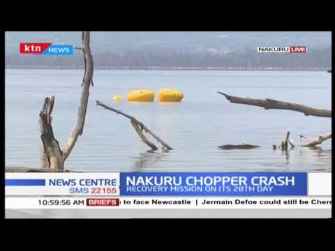 Chopper Crash: Wreckage of Helicopter recovered