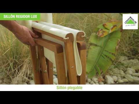 Sillon plegable madera acacia regidor lux