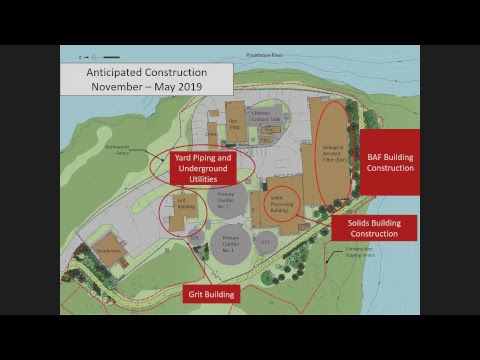 Peirce Island Waste Water Treatment Facility Upgrade 11.21.2018