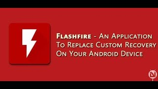 How To Install Custom ROM Without Using Custom TWRP Or CWM Recovery | Flashfire Method