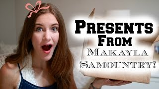 Opening Grad Gifts from Makayla Samountry!?!
