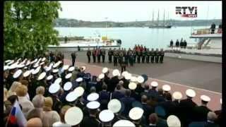 Путин отметил День Победы в Крыму.