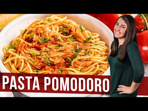 How to Make Pasta Pomodoro | The Stay At Home Chef