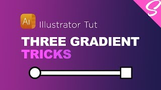 3 AWESOME Gradient Trick Tips - Illustrator Gradient Trick Tips Tutorial