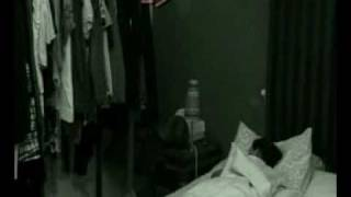 ghost caught on film with poltergeist moving objects haunte