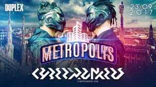 METROPOLIS with CYBERPUNKERS I  2392017  trailer