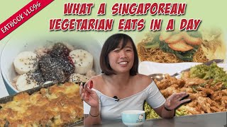 What A Singaporean Vegetarian Eats In A Day   Eatbook Vlogs   EP 71