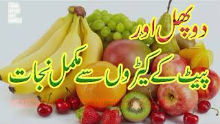 Pait K Keeray Ka Do Phalon Se Ilaj In Urdu | Islam Quran Hadees