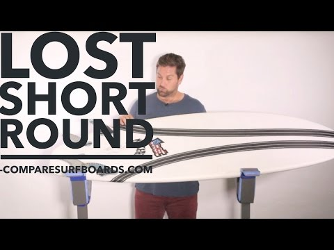 Lost Surfboards Short Round Surfboard Review feat. Carbon Wrap (NEW) no.131 | Compare Surfboards