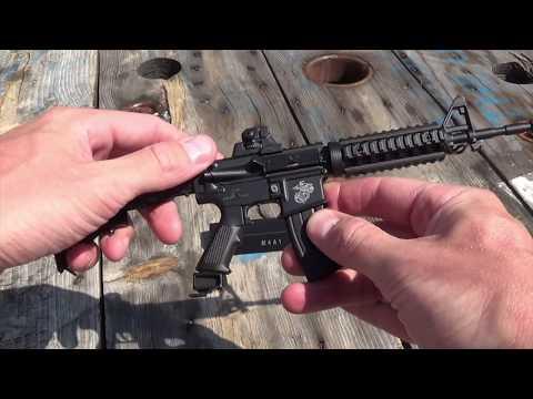 MINIATURE M4A1 - AR15 Gun Replica! - смотреть онлайн на Hah Life