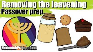 Passover prep and Unleavened Bread recipe