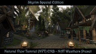 SkyrimSE | NVT ENB - NAT Preset | A Very Natural & Realistic Modded Skyrim